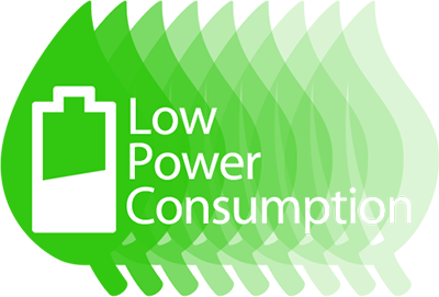 Low Power Consumption
